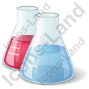 Erlenmeyer Flask Chemicals Icon