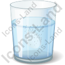 Glass Water Tablet Icon
