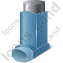 Inhaler Metered Dose Icon, PNG/ICO, 128x128