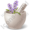 Pharmacy Herbs Icon, PNG/ICO, 128x128