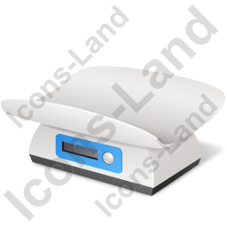 Baby Weight Scales Icon