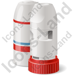 Inhaler Dry Powder Icon