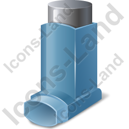 Inhaler Metered Dose Icon, PNG/ICO, 256x256