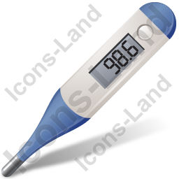 Medical Thermometer Fahrenheit Icon