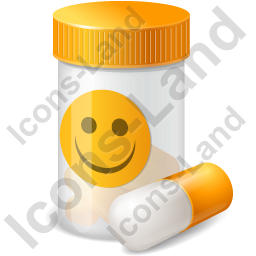 Medication Antidepressant Icon