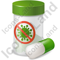 Medication Antiviral Icon, PNG/ICO, 256x256