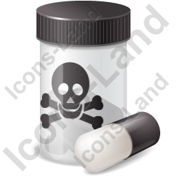 Medication Poison Icon