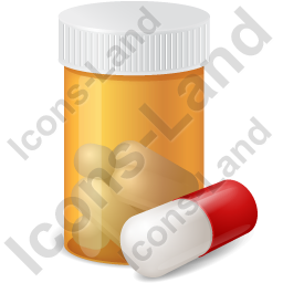 Prescription Bottle Capsule Icon