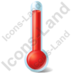 Temperature Hot Icon