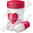Medication Heart Care Icon