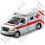 Ambulance Pickup Icon, PNG/ICO, 64x64