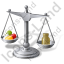 Balance Scale Pills Icon