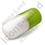 Capsule Green Icon, PNG/ICO, 64x64