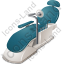 Dental Chair Icon, PNG/ICO, 64x64