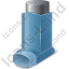 Inhaler Metered Dose Icon, PNG/ICO, 64x64