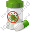 Medication Antiviral Icon, PNG/ICO, 64x64