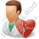 Cardiologist Male Icon
