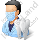 Dentist Male Icon