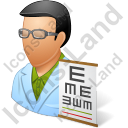 Ophthalmologist Male Icon