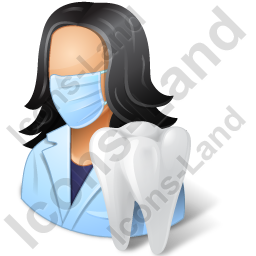 Dentist Female Icon