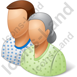 Group2 Patients Icon, PNG/ICO, 256x256
