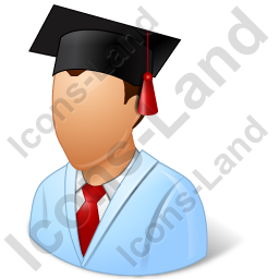 Medical Student Male Icon, PNG/ICO, 256x256