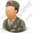 Army Nurse Male Icon
