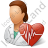 Cardiologist Female Icon, PNG/ICO, 48x48
