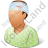 Patient Injured Male Icon, PNG/ICO, 48x48