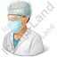 Laboratory Assistant Male Icon