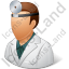 Otolaryngologist Male Icon