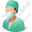 Surgeon Male Icon