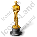 Award Oscar Icon, AI,
