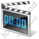 Clapperboard LED Icon