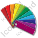 Color Matching Fan 1 Icon, PNG/ICO, 128x128