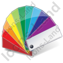 Color Matching Fan 2 Icon, PNG/ICO, 128x128