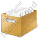 Drawer Files Icon, AI,