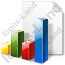File Chart Bars Icon