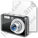 File Photo Camera Icon