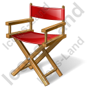 Film Director Chair Icon