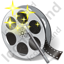 Film Reel Effects Icon, PNG/ICO, 128x128