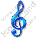 Music Notation GClef Icon