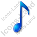 Music Notation Note 2 Icon