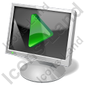 Screen Mode Play Icon