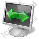 Screen Mode Wide Screen Icon, PNG/ICO, 128x128