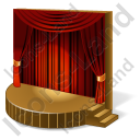 Stage Theater Icon