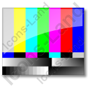 Test Pattern NTSC Icon