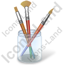 Tools Brushes Icon