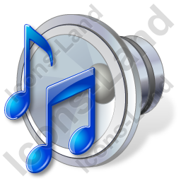 Audio Music Notes Icon