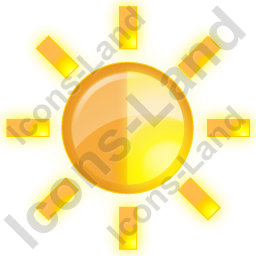 Brightness Yellow Icon